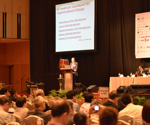 Keynote speech at World Congress in Malaysia