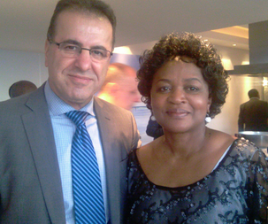 Baleka Mbete president of ANC south Africa