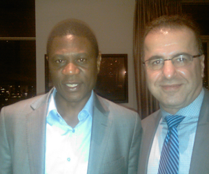Minister of Culture Paul Mashatile in South Africa