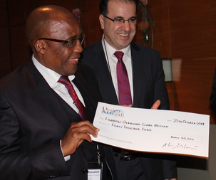 Health Minister of South Africa Dr Aaron Motsoaledi